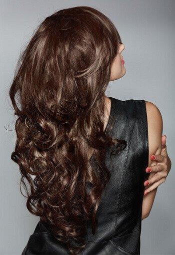 Barrel Curls flat ironing