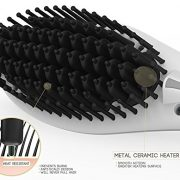 hair straightener brush price
