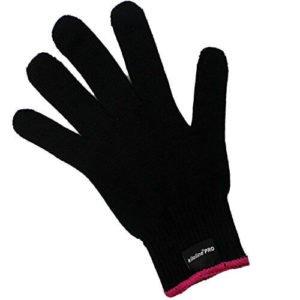 heat resistant glove hair